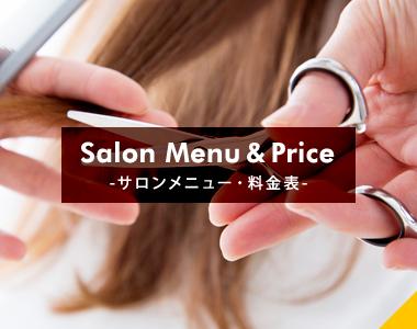 Salon Menu & Price